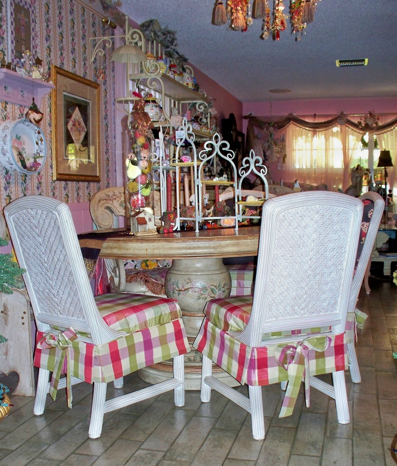 Floral Dining Chair Slipcovers Chair Pads Amp Cushions